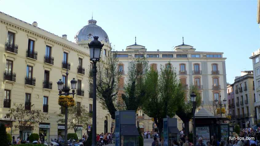 Plaza de Campillo in Granada